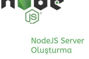 Node JS Server Oluşturma